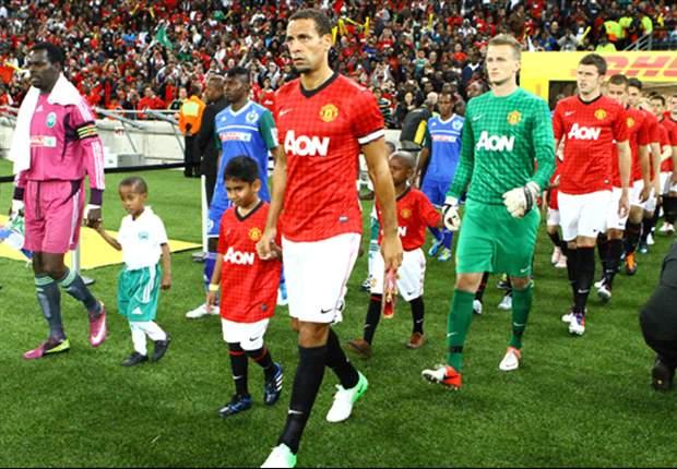 Rio Ferdinand jugará su partido número 400 con el Manchester United