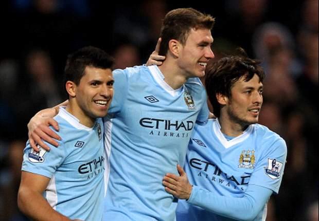 Manchester City striker Dzeko reveals Serie A ambition