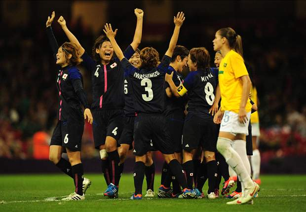 Sepakbola Putri Olimpiade: Jepang Kandaskan Brasil