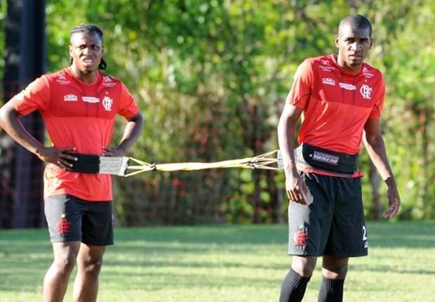 Dorival testa Marllon entre os titulares no Flamengo