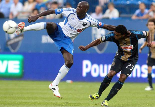 Montreal Impact 2-0 Philadelphia Union: Both sides finish with 10 as host wins