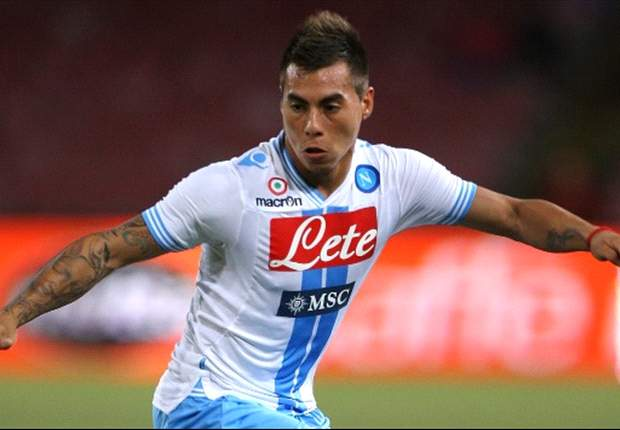 Espanyol target Napoli forward Eduardo Vargas - report