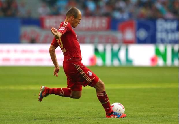 """Robben: """"Ik ben verder dan ik dacht"""""""