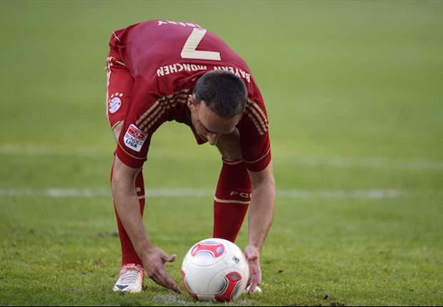 ALL, Bayern - Ribéry incertain pour la 1ère journée