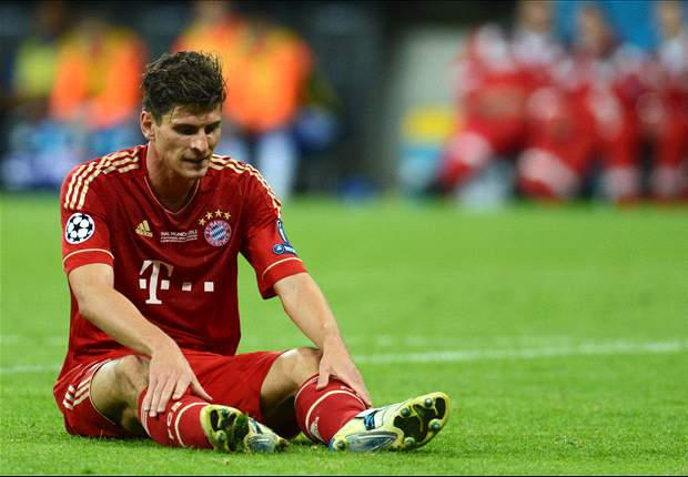 Mario Gomez facing six weeks on sidelines