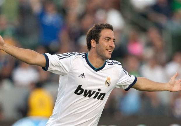 Real Madrid in talks with Higuain over improved deal until 2018 - report