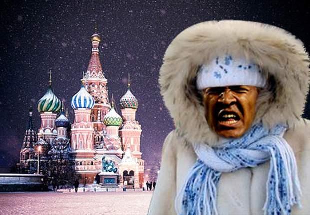 Salomón Rondón prepara la ropa de invierno para no pasar frío en Rusia