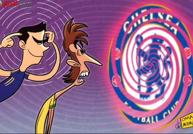 Óscar intenta hipnotizar a Neymar para que se una al Chelsea