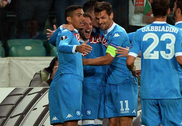 Video: Legia Warszawa vs Napoli
