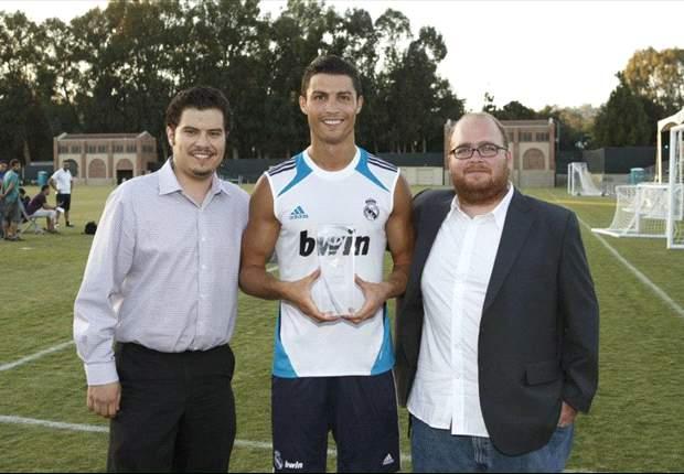 "Cristiano Ronaldo se siente ""orgulloso"" por haber ganado el Goal.com 50"
