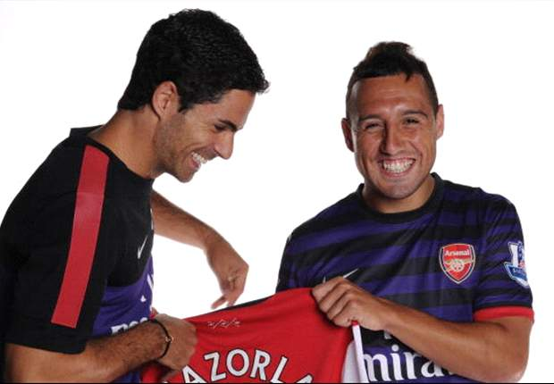Cazorla suits the way Arsenal plays, says Arteta
