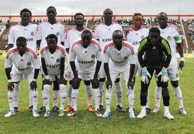 Kenya's Harambee Stars move seven places up in latest World Fifa rankings