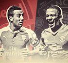 Rooney aast op goals tegen Arsenal