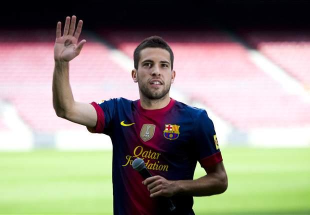 TEAM NEWS: Jordi Alba makes Barcelona debut against Real Sociedad