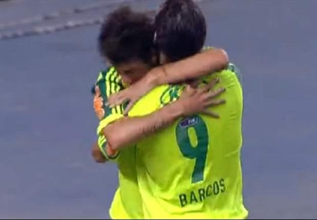 Barcos 'defende' gol impedido e lembra que já foi prejudicado