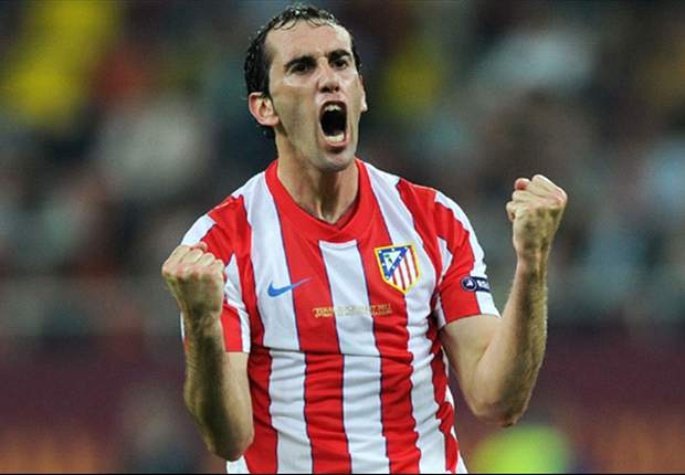 Godin: Atleti still aiming for second spot in La Liga