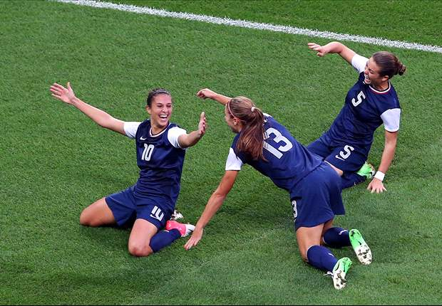 USA 2-1 Japan: Ogimi strike not enough as Lloyd double seals gold medal