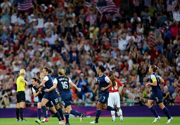 Penonton Sepakbola Di Olimpiade Pecahkan Rekor