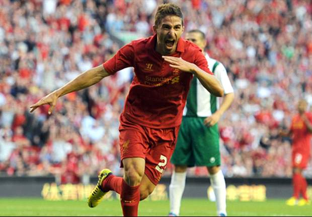 Allen watches on as Suarez, Borini & Gerrard lay down a marker for Liverpool
