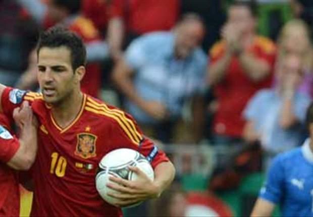 Cesc Fábregas: Me siento muy importante en España, es una gozada estar aquí