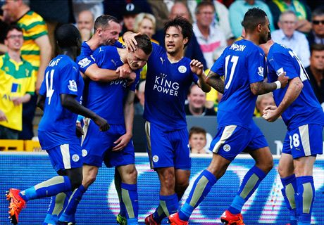 Leicester bounce back against Norwich