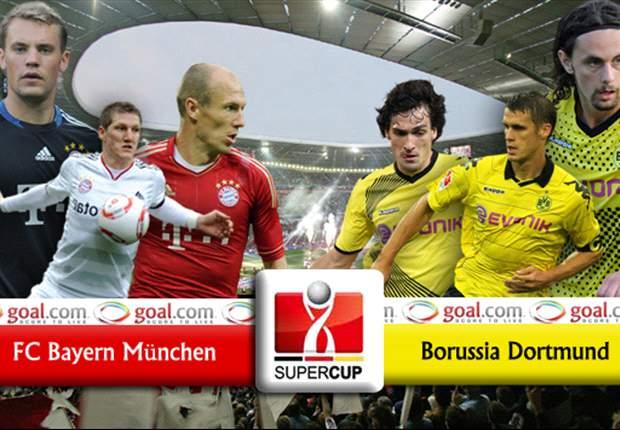 Bayern München im Supercup ohne Bastian Schweinsteiger