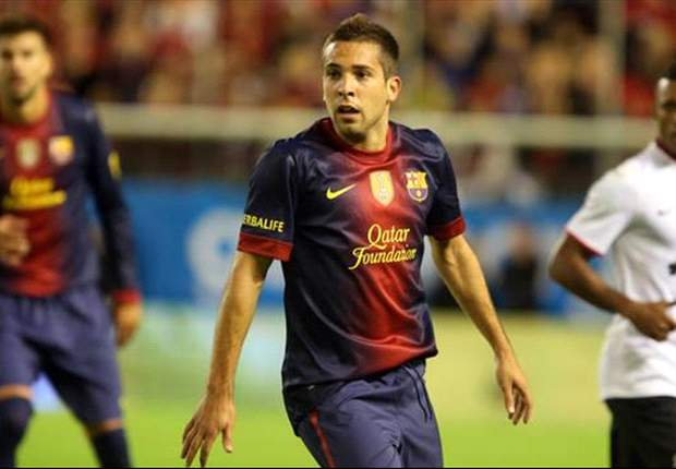 Barcelona's Jordi Alba ruled out of Getafe clash