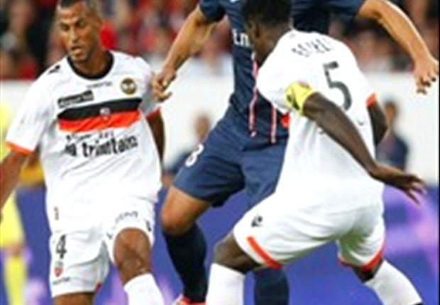 Paris Saint-Germain 2-2 FC Lorient: Ibrahimovic double spares hosts' blushes in thrilling Ligue 1 opener