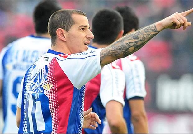 Leandro Romagnoli se entrenó con el resto del plantel