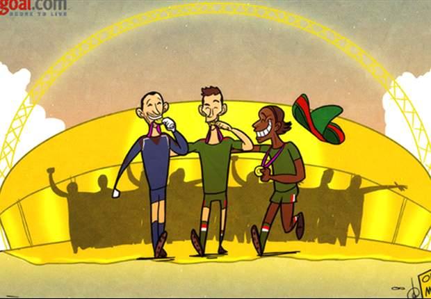 [만평] 멕시코의 금메달
