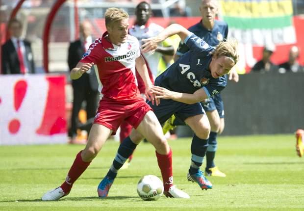 Feyenoord magertjes langs FC Utrecht