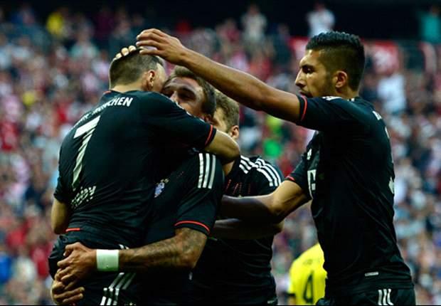 2:1 - Bayern München schlägt endlich Borussia Dortmund