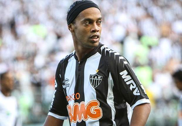 Back on top: Resurgent Ronaldinho is leading Atletico Mineiro's Brasileiro charge