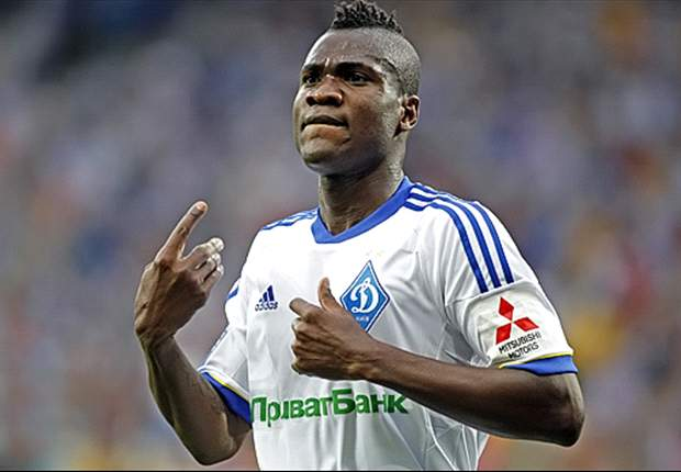 Ideye happy that his goal won all three points for Dynamo against Karpaty