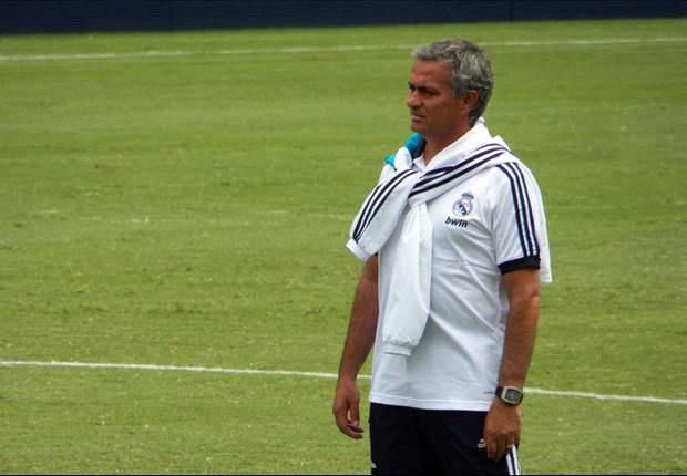 José Mourinho hace entrenar a Javier Noblejas con el primer equipo