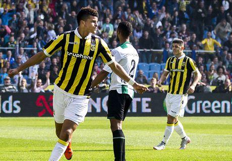 Chelsea's Solanke on Vitesse start