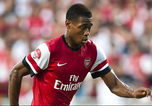 Arsenal loanee Aneke to stay an extra month with Crewe