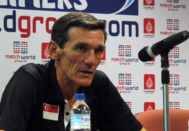 'I feel somewhat disappointed' - Singapore coach Raddy Avramovic after Singapore's 2-0 defeat to Philippines