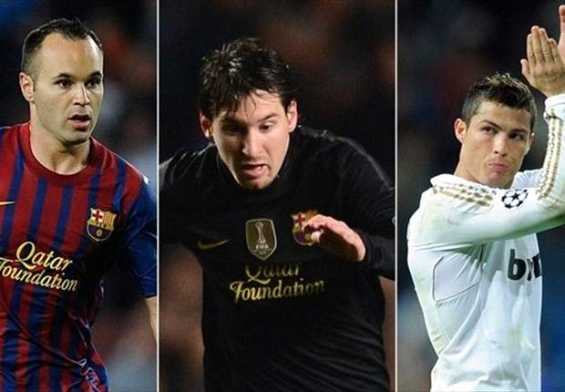 Iniesta wins Uefa best player award ahead of Ronaldo and Messi