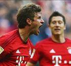 Bayern hammer five past Dortmund