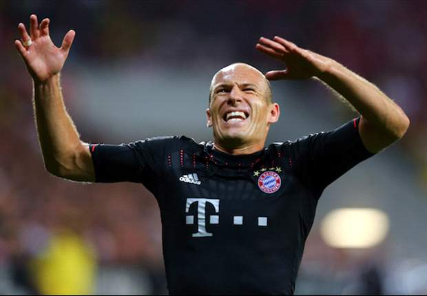 Robben ruled out of Werder Bremen clash