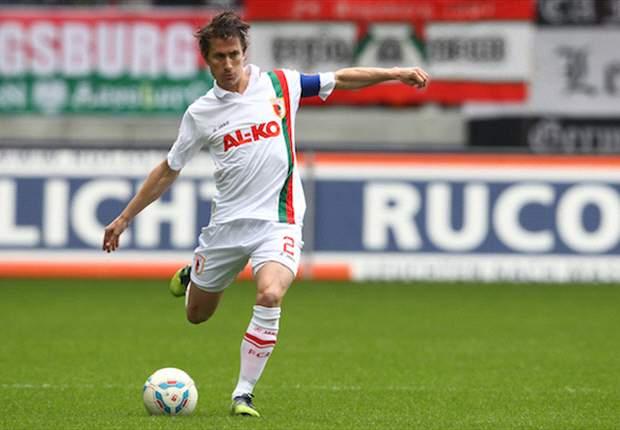Trägt auch weiterhin die Kapitänsbinde des FC Augsburg: Paul Verhaegh