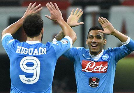 Milan-Napoli LIVE! 0-2, segna Insigne