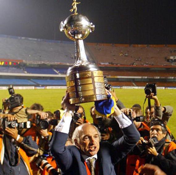 Los 5 técnicos argentinos más ganadores - Carlos Bianchi