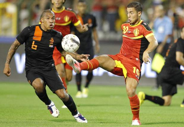 Wilmots hints Hazard starting spot may be under threat for Scotland clash