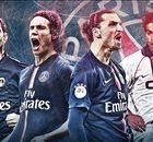 Ibrahimovic e os 10 maiores artilheiros da história do PSG