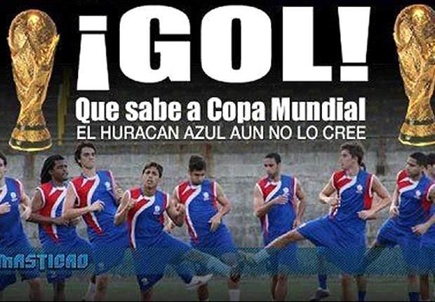 El gol más festejado de la historia de Puerto Rico