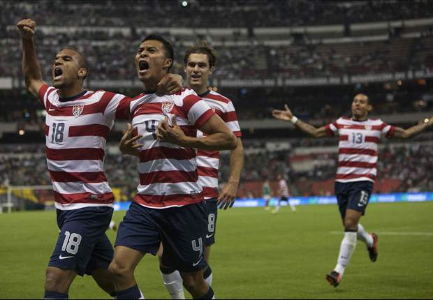 Mexico 0-1 USA: Visitors win at Azteca for first time in 25 attempts