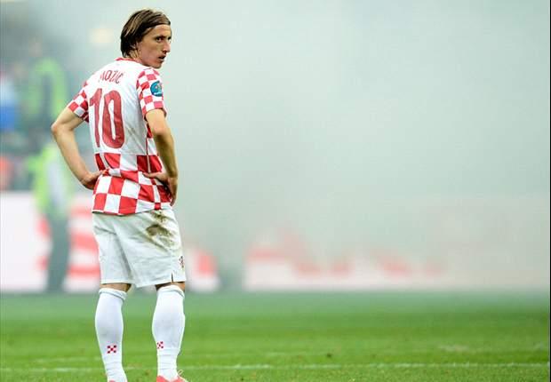 Luka Modric protagonizó, sin querer, un día de locos en torno al Real Madrid