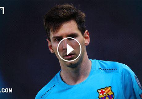 Día 9 sin Lionel Messi